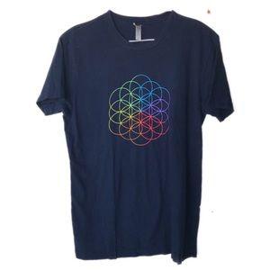 Coldplay 2017 World Tour  t shirt